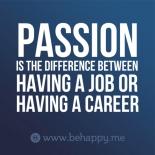 passion job v career